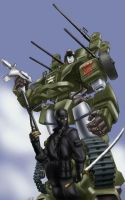 WWII GI Joe-Transformers by GideonHoss