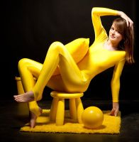 Yellow Spandex by pnlabs
