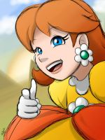 Mario - Princess Daisy by EnterMEUN