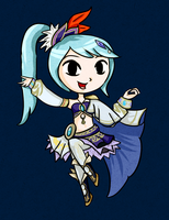 Wind Waker Lana by ellenent