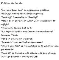 Only in Scotland. by Word-of-the-Warrior