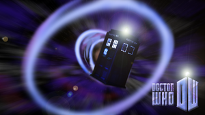 Doctor Who Wallpaper by M24Designs