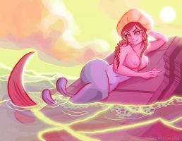 The Little Mermaid by Phobos-Romulus