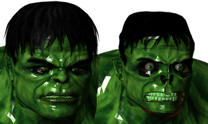 Hulk model 3d by sidneymadmax
