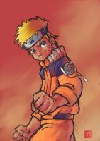 naruto Uzumaki by peterete