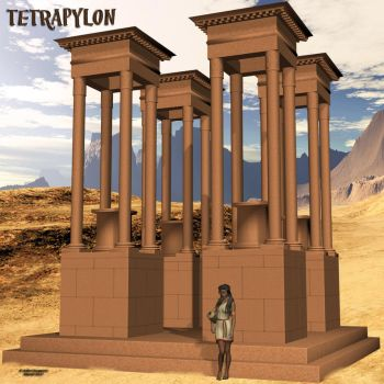 Tetrapylon (freebie) by AelinNamarie