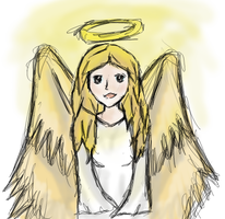 Angel by artloverrsnp