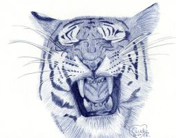 Tiger Ballpoint by Cindy-R