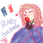 Francis Bonnefoy -FRANCE-  Quick Sketch by Fantasy-Fashionista