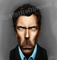 Dr. House caricature by Matija5850