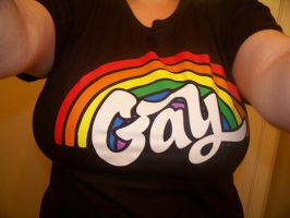Shirt of Gay by Nova-the-DeathGod