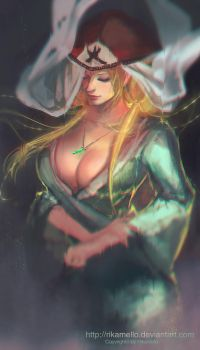 Tsunade by RikaMello