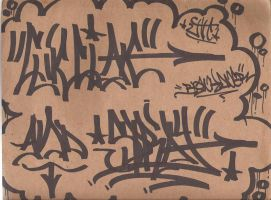 clik clak and Spray tag by MFBlank