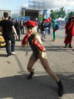 Cammy cosplay by DragonFly188