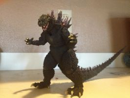 S.H. Monsterarts - Godzilla 2000 by Daizua123