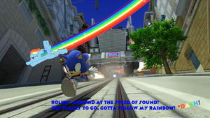 Sonic and MLP: City Escape by MariovsSonic2008