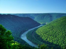 New River Gorge, West Virginia by jim88bro