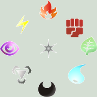 Pokemon TCG Element Icons by NewtonianNocturn