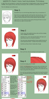 Sai Anime Colouring Tutorial by mjjdcf