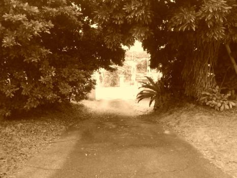 gates of paradise- sepia by sweet--intoxication