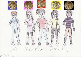 Project 3 It's Morphin Time Ver. 2 by Jred20