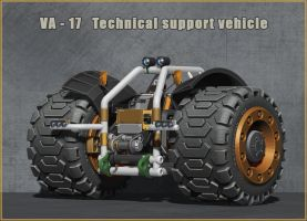 VA-17 Technical support vehicle by VladimirAranovich
