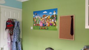 My New Super Mario Poster! by LuigiYoshi2210