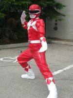 AN11 Red Ranger by animenorth2011