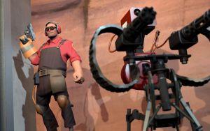 TF2 In Action - Engineer 2 by AmberReaper