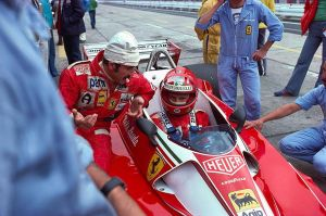 Clay Regazzoni | Niki Lauda (Germany 1976) by F1-history
