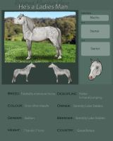 Registered Macho by EquineRibbon