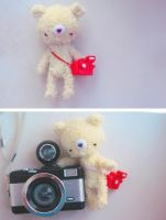 fisheye and amigurumi by da-bu-di-bu-da