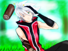 Young Ragna by Natsume91