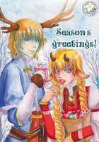 Season's greeting 2014 by Alix-Aethusa
