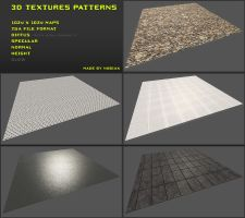 Free 3D textures pack 10 by Nobiax