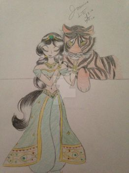 Limited Edition Jasmine by MySapphireReverie