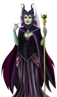 Maleficent WIP 7 by Spi-ritual-ity