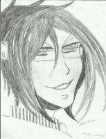 Doctor Sebastian Michaelis Drawing by Star1147