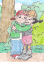 TJ and Spinelli by Fluttershy626