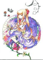 Pandora Hearts : Sharon Rainsworth by DrawIfAffinity