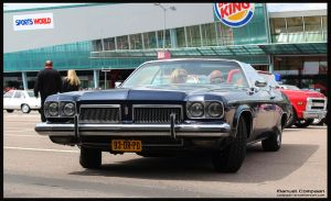 1973 Oldsmobile Delta 88 Royale by compaan-art