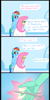 A Helping... Hand? by MrBastoff