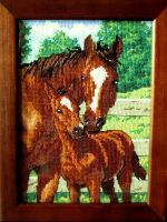 Mother's pride cross stitch by Santian69