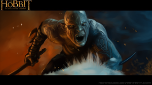 Speed Paint - Azog the Defiler by RoninDude