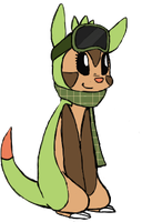 Chespin OC by undead-feline