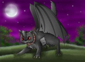 Scar the devil cat by RainbowRose912