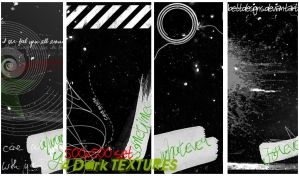 Set Dark Textures by bettdesigns