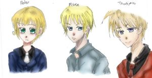 WP: Peder, Fiske, and Thorbjorn by bookworm555