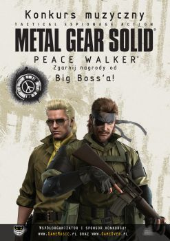 MGS: Peace Walker Poster 02 by B4H