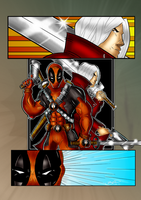 Deadpool and Dante Finished by BouncieD